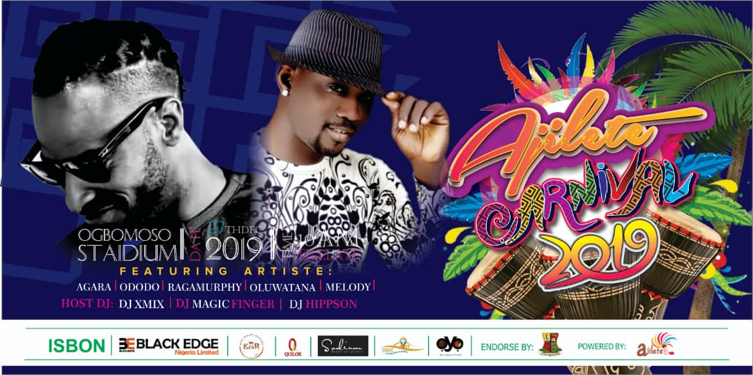 Pasuma, 9ice, others to thrill Ogbomoso indigenes at 2019 Ajilete carnival concept