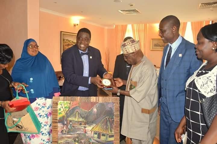 MAPOLY Management Visits President Obasanjo