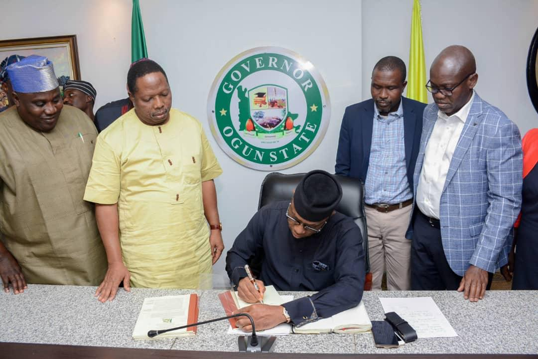 Abiodun Signs 280BN Revised 2020 Budget Into Law