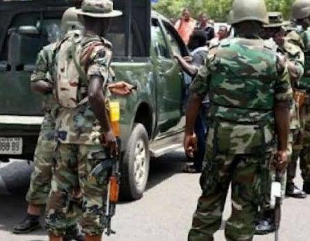 Horror! Soldier shoots four colleagues dead, commits suicide