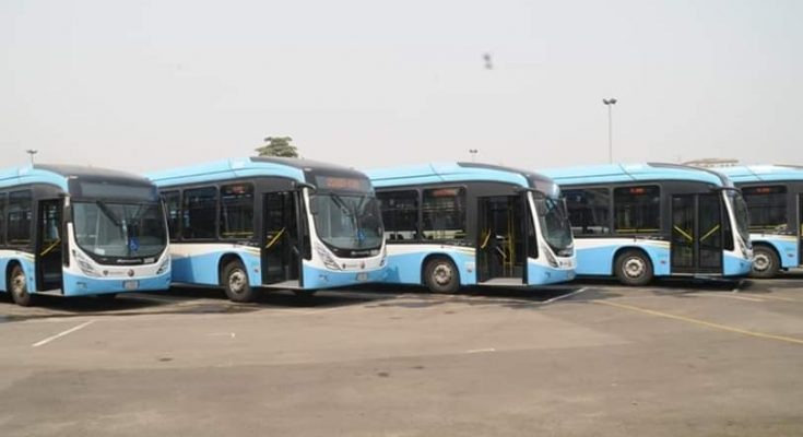 OKADA BAN: LAGOS ROLLS OUT 65 BUSES AS PALLIATIVE MEASURES  …550 more buses to be injected for feeder routes