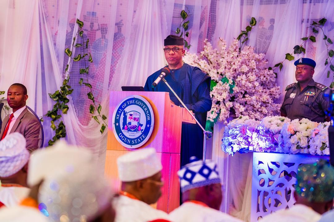 "Governor Abiodun Seeks Monarchs' Support For ""Amotekun"""