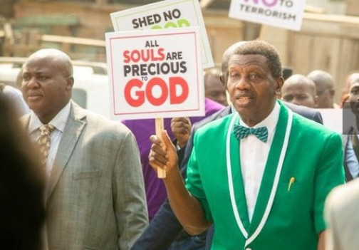 CAN Prayer Walk: Pastor Adeboye Leads Protest Against Insecurity