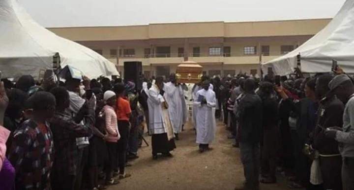 Boko Haram: Tears as abducted, murdered Kaduna seminarian, Michael Nnadi, is buried
