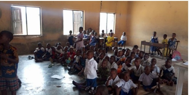 Delta schools where children of the poor learn with tears