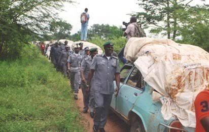 Ogun: Customs, smugglers clash leaves one critically injured