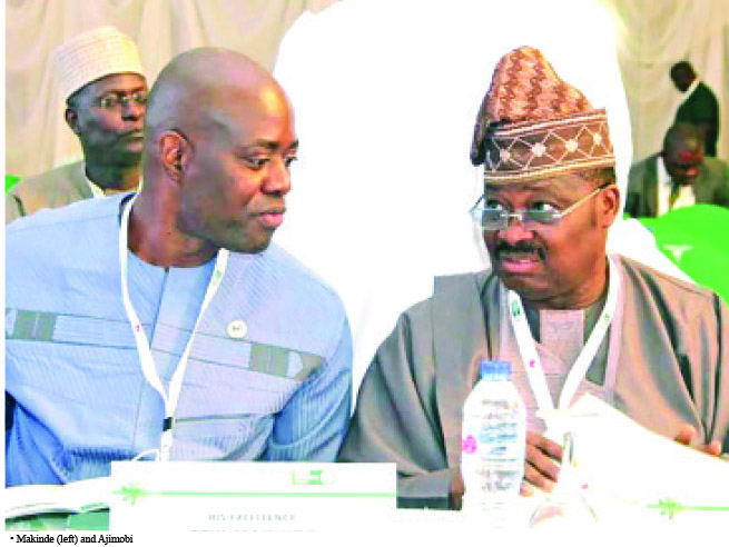 Coronavirus: Ajimobi goes spiritual for Seyi Makinde