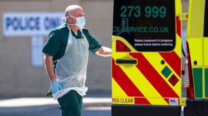 Coronavirus: UK hospital deaths pass 20,000