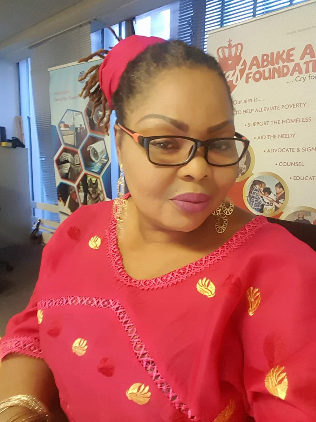 Maintain Social Distance, Omolola Olagoke-Harley Advises Nigerians   …Grateful to God for giving her a second chance in life