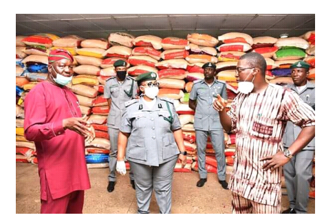Custom Reacts To Oyo Government Claims on Infested Rice