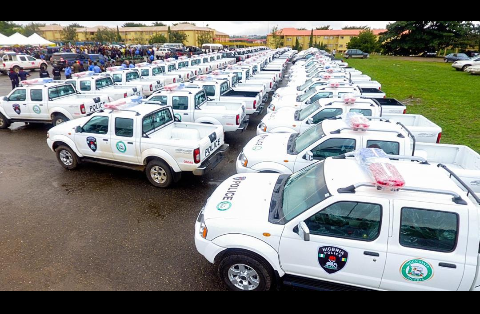 OGSG donates new patrol vehicles, Bikes to Police, TRACE, QRS, others