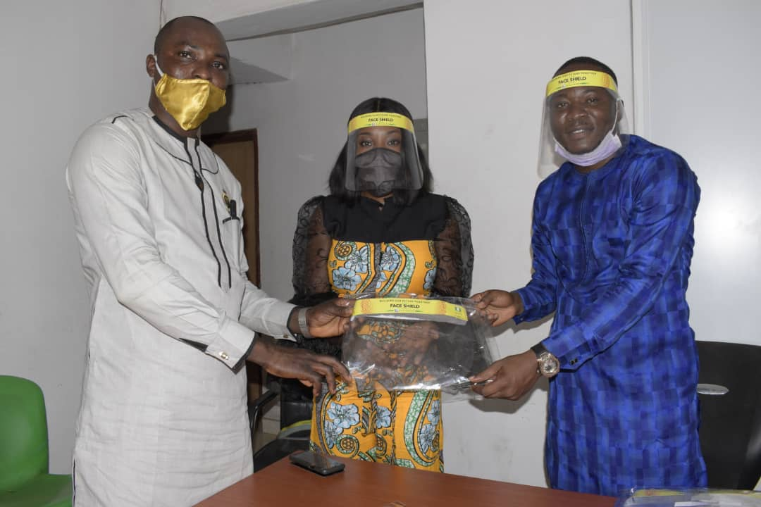 Covid-19: Abiodun's Aide, Kuye Donates Face Shields To 500 Youths In Ogun to lunch operation Shield Up