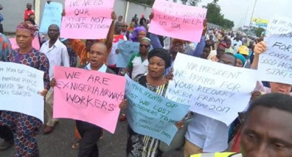 May Day: Pay us our entitlement s now, Ex-Nigeria Airways workers cry out