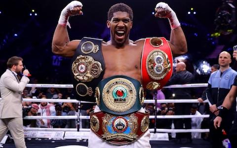 Anthony Joshua and Tyson Fury open talks over stunning December fight in Saudi Arabia
