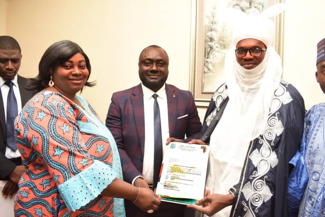 Foremost Benin Republic University confers Phd Honorraris award on Chairman, ENICOSIN Group of companies, Adesina Abolade
