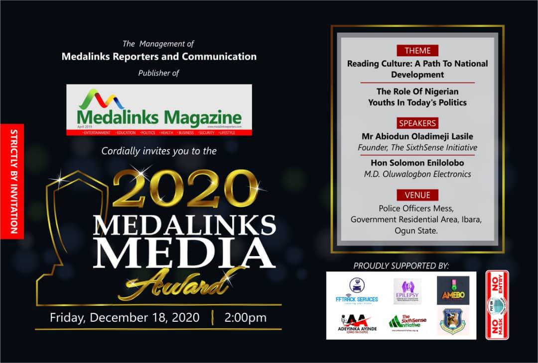 PLATFORM TIMES Editor, Ogun CP, 17 others bag award of excellence
